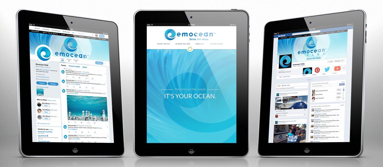 Emocean social media branding