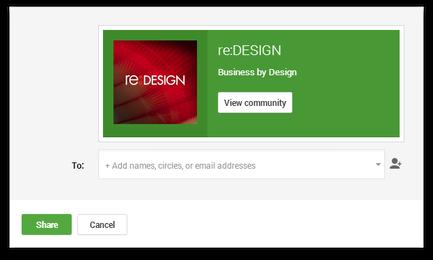 redesign community, google plus community, creative community, G+ community, google plus design community