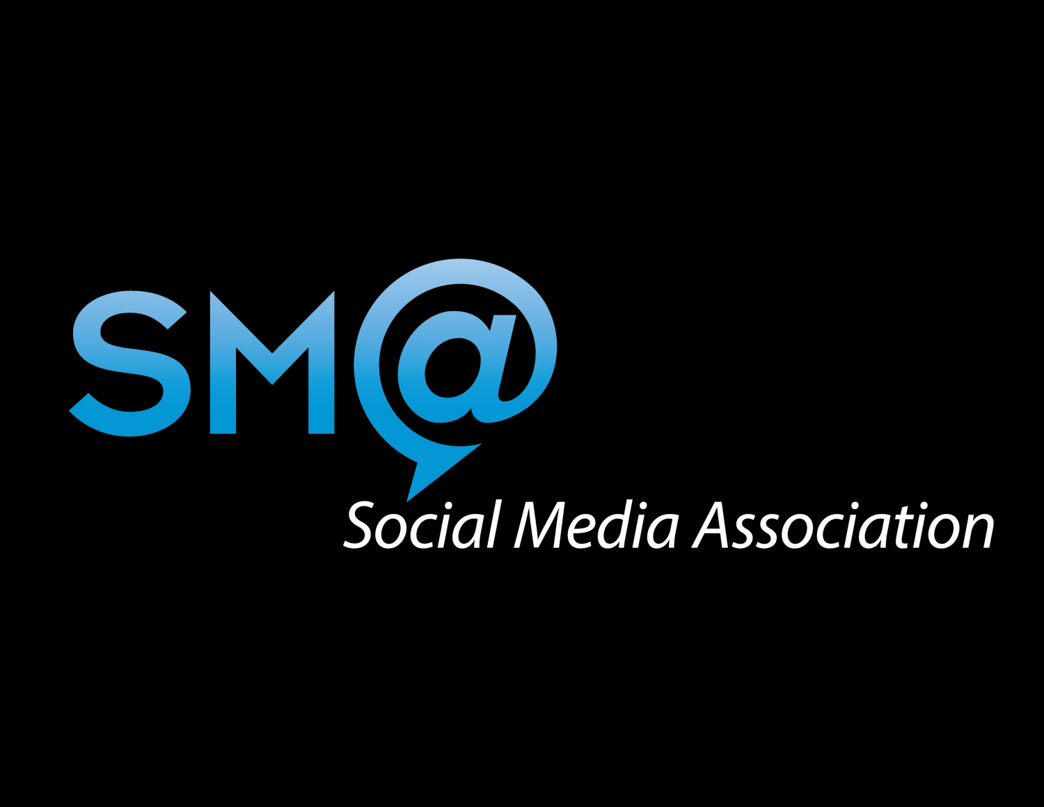 good logo design, logo designer, long island logo design, sma logo, social media association, social media branding