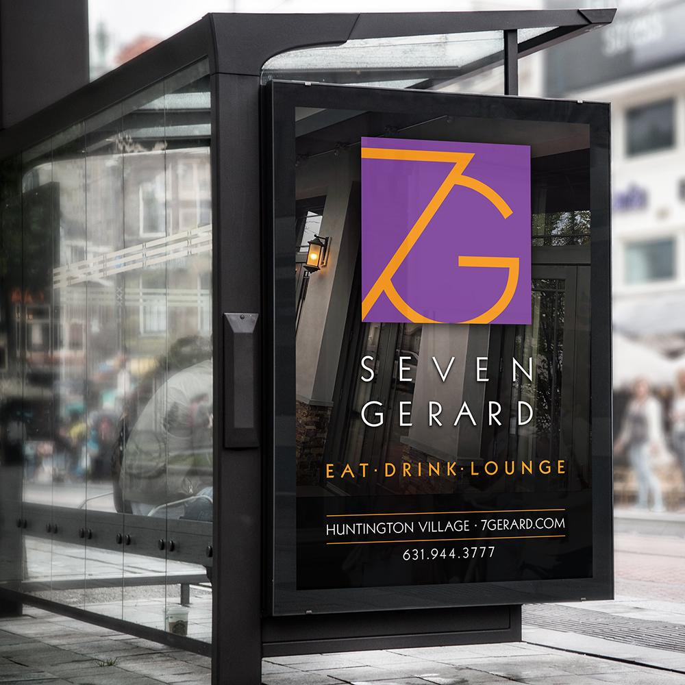 7 Gerard restaurant ad