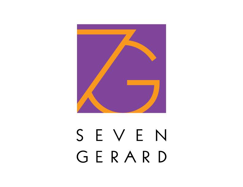 7G logo, 7 gerard logo, seven gerard logo, restaurant logo, restaurant branding, good logo design, logo designer, long island logo design
